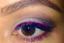 My own eye looks