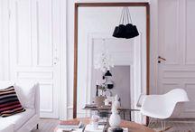 White and beige decor