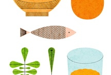 Food illustrations and graphics