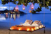 To take in Maldives
