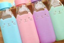 Bottle & tumblr