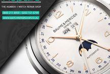 Baume & Mercier Watch Repair