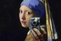 Girl With the Pearl Earring Twists and Turns / Homages and parodies of the iconic painting by Johannes Vermeer.