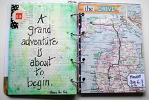 Travel Journals / Inspiration for keeping a travel journal