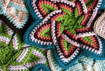 HTC mermer flower crochet tığ işi çiçek Yapımı