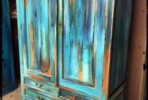Мебель покраска