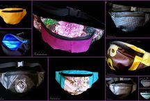 I sew - Szyję / Torby, które zaprojektowałam, skroiłam i uszyłam. Bags designed, cut and sewed by me.