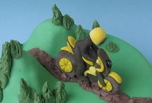 motorbike cake / by Elvina Bier