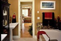 Bathroom redo!!! / by Lindsey Fuchs