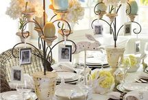 Beautiful Tablescapes for Easter/Spring Brunches