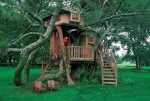 Treehouses.Amazingness / When I was little, my dad built me a tree house...since then, I've fell in love with tree houses.