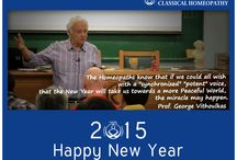 Happy New Year / by International Academy of Classical Homeopathy