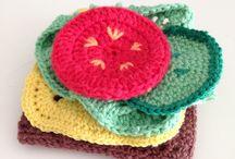 Crochet food / Crochet play food