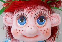 Куклы-карамельки / Мои авторские игровые куклы