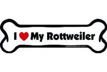 I love my rottweilers