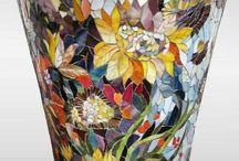vase mosaïque