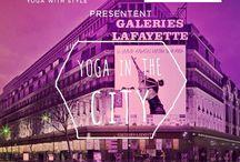 YUJ X Les Galeries Lafayette