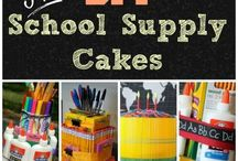 School Days- Great Crafts for Teachers and School Events / Need a great DIY gift for your child's teacher? How about a great favor for your child's next school party? We've got a huge list of all our favorites!