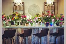 Salon Interior / Canvas Beauty Bar, located in the beautiful high country of Boone, North Carolina