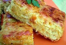 gâteaux oignons pomme de terre