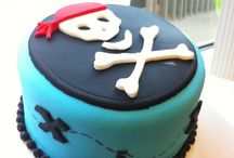 Pirate Theme Cakes