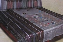 Double Bed Sheets / Ansari Collections Cotton And Silk.................