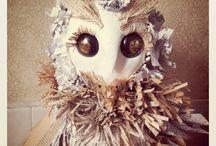paper mache / by Peggy Ann