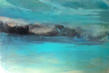 beach15 / acrylic painted landscapes