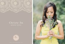 { Christy | Premier Artist Portfolio } / www.theresahuang.com / by Theresa Huang
