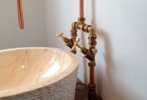 bathroom/copper
