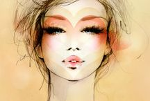 Fashion Illustration: Face