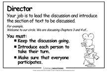 classroom - literature circles / by Kathy Carroll