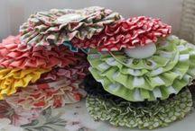 Crafty...Sewing...FLOWERS / by Beth Knight Allard