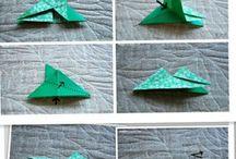 Origami Kleeblatt