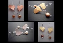 MetalomorfosiS Sets of handmade jewelry / handmade jewelry from silver, copper, brass