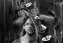 Sam Winchester Art