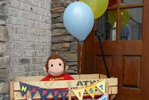 Curious George Birthday Party / by Wendy Robinson