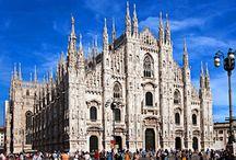 NORTHERN ITALY--MILAN, LAGO MAGGIORE, ISOLA BELLA, ETC.
