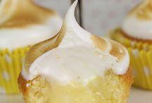 cupcake citron meringues