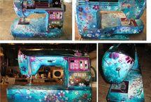 Customizar máquina de coser