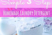 DIY Detergent, soap, etc.