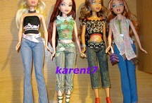 My scene barbie dolls