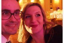 Animation de cocktail de Mariage de janvier 2015 avec le groupe de jazz Just for cab' / Animation jazz à l'hôtel Georges V pour un mariage 5 étoiles