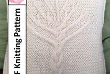 knitted pillow slips