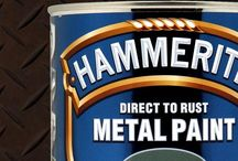 Hammerite - direct peste rugina / Vopsea pentru metal cu aplicare direct peste suprafata ruginita.