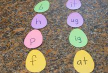 Letters paaseieren