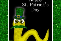 St. Patrick's Day ~ March 17 / St. Patrick's Day greeting cards and gifts for the Irish and the Irish at heart.