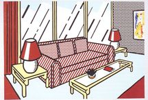 Roy Lichtenstein, interno 2 / made in sketchup + vray
