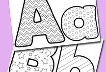 Alfabet / Kleuren