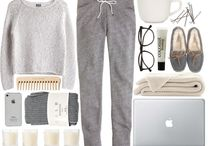 Lazy days - in style / You don't have to look like a scruff!
